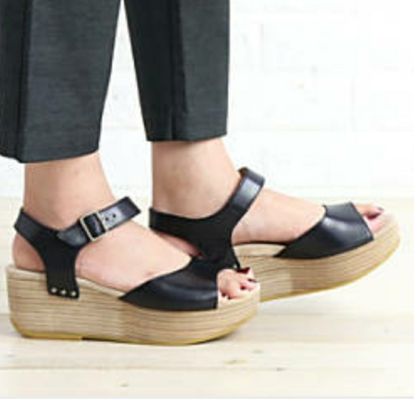 5d382eada80 Dansko Shoes - New Dansko Silvie Black Platform Sandals